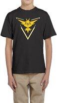 Sofia-Child Pokemon Go Team Instinct Logo Zapdos Youth's T-shirts