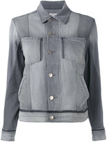 Frame slip pockets denim jacket