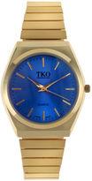 JCPenney TKO ORLOGI Womens Blue Dial EZ Flex Expansion Bracelet Watch