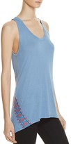 Rebecca Minkoff Gia Embroidered Tank Top