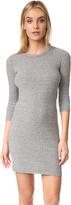 Enza Costa 3/4 Sleeve Mini Dress