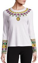 Moschino Jewel Graphic Cotton Tee