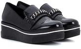Stella McCartney Faux-leather slip-on sneakers