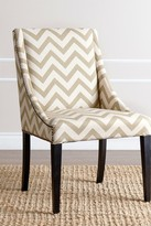 Gold Sara Swoop Dining Chair