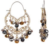 Jenny Packham Crystal & Bead Shaky Drop Earrings