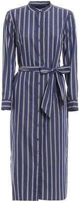 Lauren Ralph Lauren Striped Shirt Dress