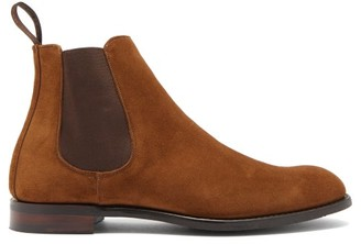 Cheaney Godfrey Suede Chelsea Boots - Tan