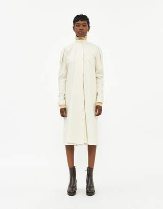 Lemaire Tie Dress in Washed Cotton