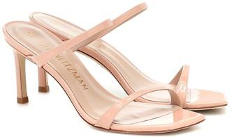 Stuart Weitzman Aleena patent leather sandals