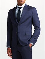 J. Lindeberg Fancy Wool Slim Fit Suit Jacket, Blue