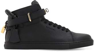 Buscemi 100mm Alce High Top Leather Sneakers