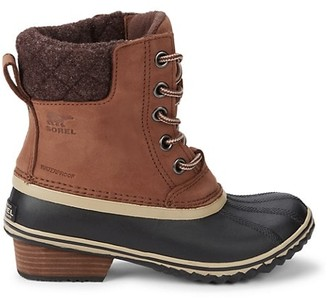 Sorel Leather & Rubber Boots