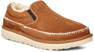 UGG Neumel Suede Faux Shearling Lined Slipper