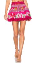 Camilla Short Frill Hem Skirt