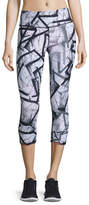 Vimmia Reversible Print Performance Capri Pants, Nebula