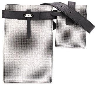Ermanno Scervino Rhinestone-Embellished Belt Bag