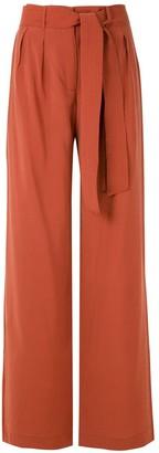 Egrey Ottoman wide leg trousers