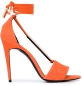 Pierre Hardy tie back sandals