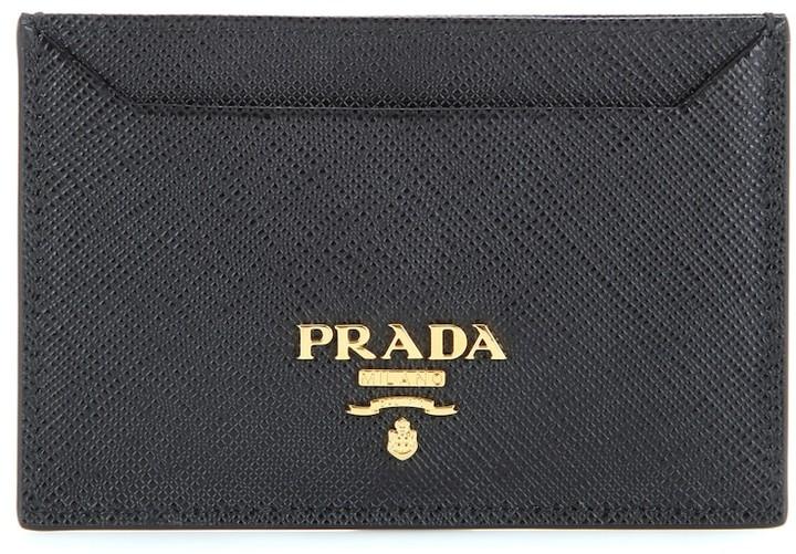 97660e113493 Prada Saffiano Wallet - ShopStyle