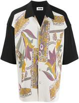 Magliano floral printed buttoned shirt