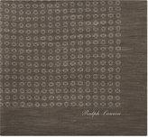 Ralph Lauren Purple Label Circle Pattern Linen-cashmere Pocket Square