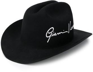 Versace GV Signature cowboy hat