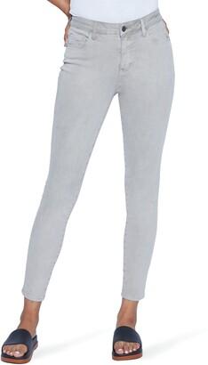 WASH LAB High Waist Ankle Skinny Jeans