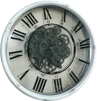 R16 Home Vintage Gear Wall Clock