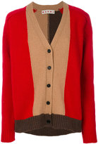 Marni colour block cardigan - women - Virgin Wool - 40