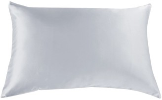 Royal Comfort Mulberry Silk Pillow Case Twin Pack Silver