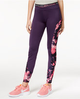 Energie Active Juniors' Floral-Print Leggings