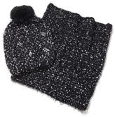 Betsey Johnson Cold Weather Hat and Scarf Set
