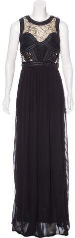 Amen Embellished Evening Dress w/ Tags