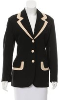 Moschino Cheap & Chic Moschino Cheap and Chic Colorblock Long Sleeve Blazer