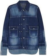 Maison Mihara Yasuhiro Indigo Shirt-hem Denim Jacket
