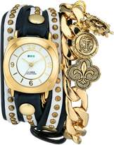 La Mer Women's LMCW2003 Nautical Charms Wrap Watch