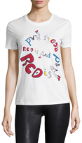 RED Valentino Red Is Rad Cotton Tee