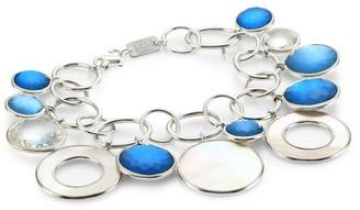 Ippolita Wonderland Sterling Silver, Mother-Of-Pearl & Doublet Chain-Link Bracelet