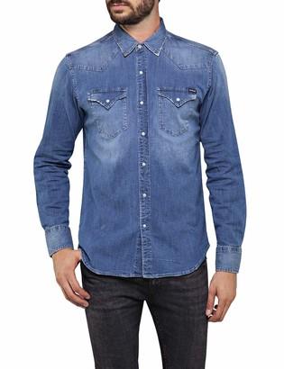 Replay Men's M4860z.000.165 613 Denim Shirt