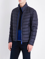 BOSS Zip-up quilted jacket