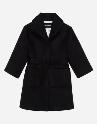 Dolce & Gabbana Velour Coat