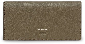 Fendi Logo Embossed Continental Wallet