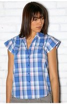 Kimchi Blue Sleeveless Plaid Button Front