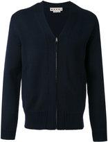 Marni knit zipped top