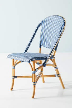 Anthropologie Woven Dots Bistro Chair