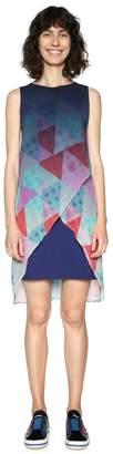 Desigual Short Graphic Print Dress