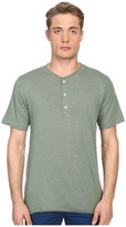 Billy Reid Short Sleeve Hunter Henley Men's T Shirt