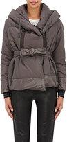 Bacon Women's Hooded Jacket-GREY