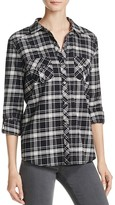 Soft Joie Sharmia Plaid Cotton Shirt