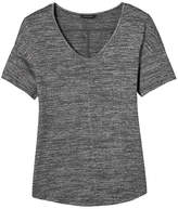 Banana Republic Soft Jersey Curved Hem Tee